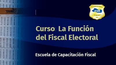 AF0821-0031 Curso la función del fiscal electoral