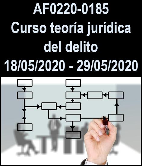 AF0220-0185  Curso teoría jurídica del delito