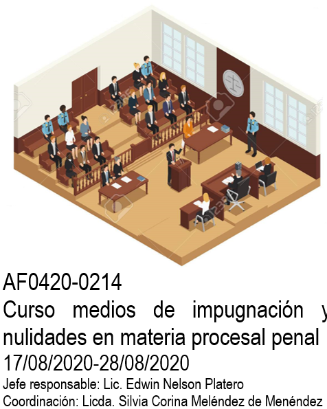 AF0420-0214 Curso medios de impugnación y nulidades en materia procesal penal